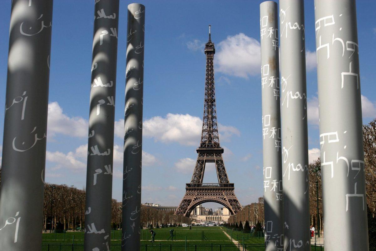 Architektura w Paryżu.